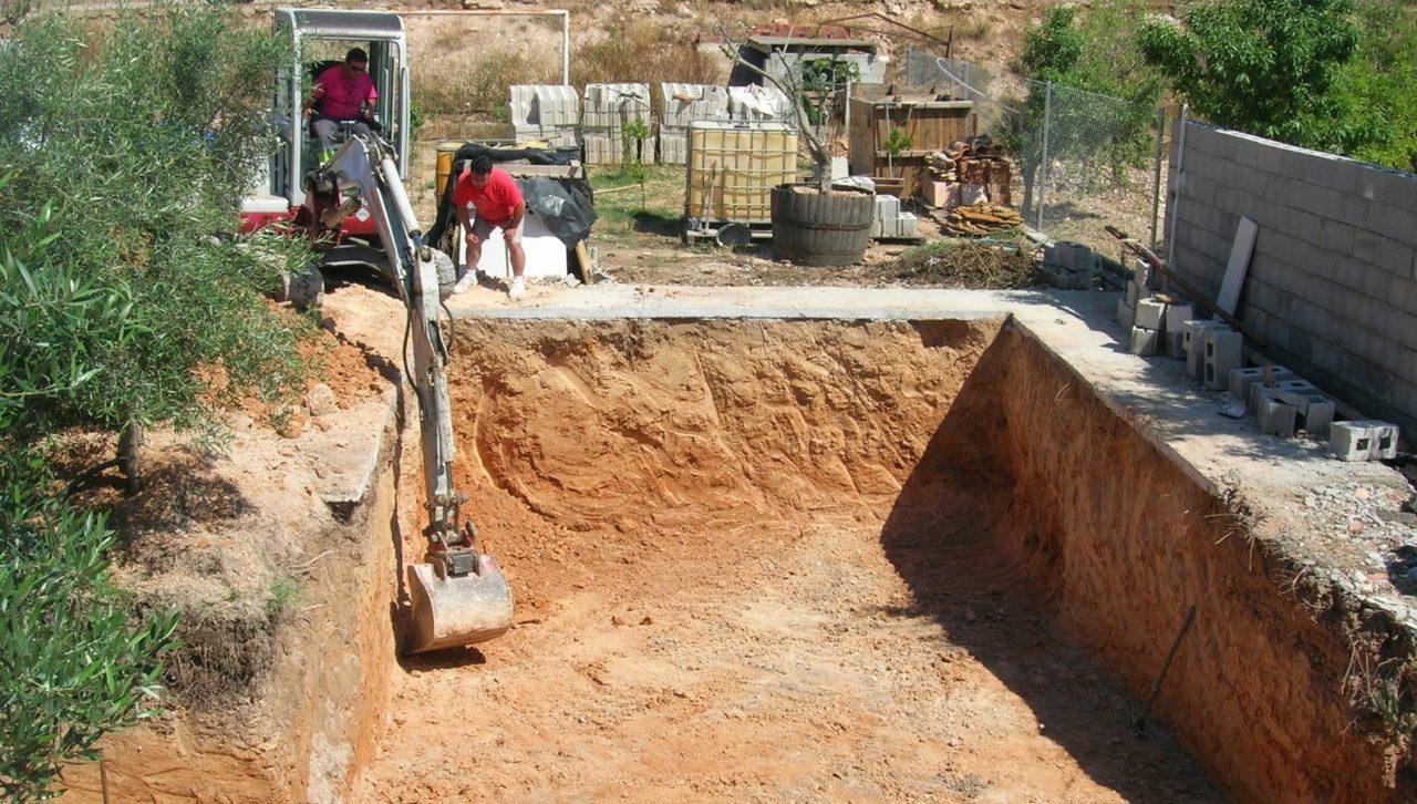 Construcción de piscinas de obra Madrid